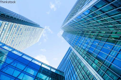 Finanzmetropole - Hochhäuser in London