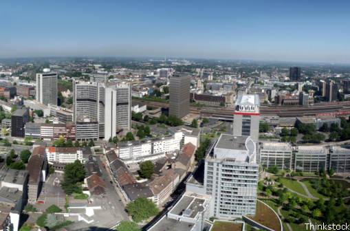 Praktikum in Essen - Industriestadt im Ruhrgebiet