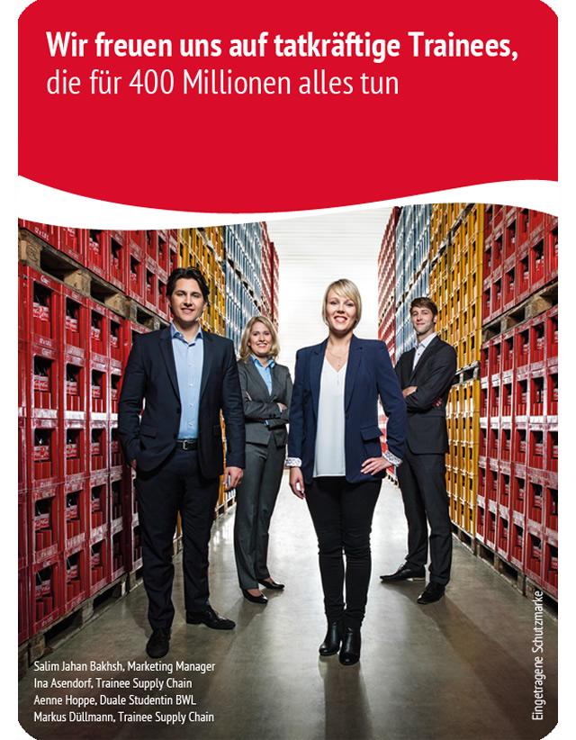 Einstieg als Trainee (m/w) bei Coca-Cola Erfrischungsgetränke AG ...